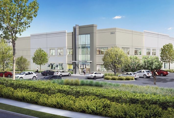 Pictured is a a rendering of First Park @ Ocean Ranch in Oceanside, a 237.3k SF, three-building complex, preleasedby Suja Juice and Brixton, a growing local apparel brand,