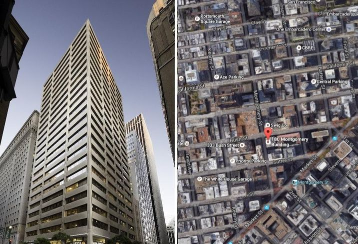 CBRE Secures $98 Million For 180 Montgomery St