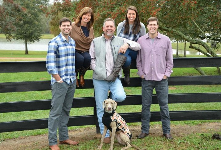Brad Freels Family