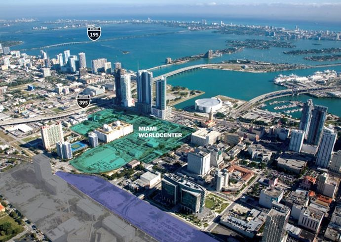 Miami Worldcenter Map
