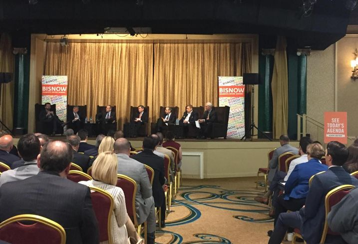 Crowd at Bisnow's DFW mixed-use event May '16