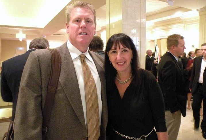 Hunt Mortgage Group managing director Greg Cazel and The Private Bank president of CRE, Karen Case