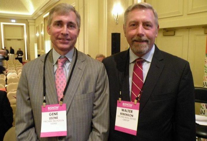 Pircher, Nichols & Meeks Partner Gene Leone and Ascend Real Estate Group president Walt Rebenson