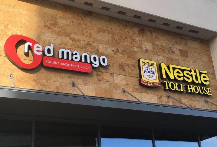 Red Mango Nestle Co-Branding
