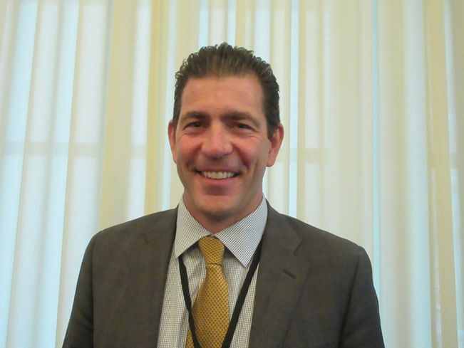 ProvidenceHealthcare real estate manager Andy Hoover