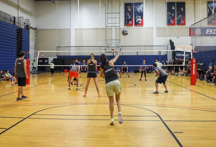 Real Estate Games Volleyball