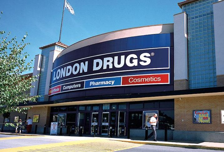 London Drugs at The Junction shopping centre in Mission, BC