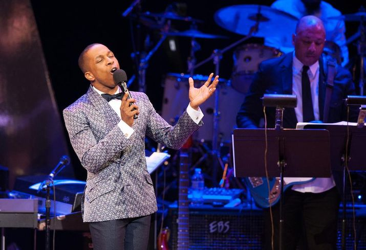 Leslie Odom Jr. at the Kennedy Center Spring Gala
