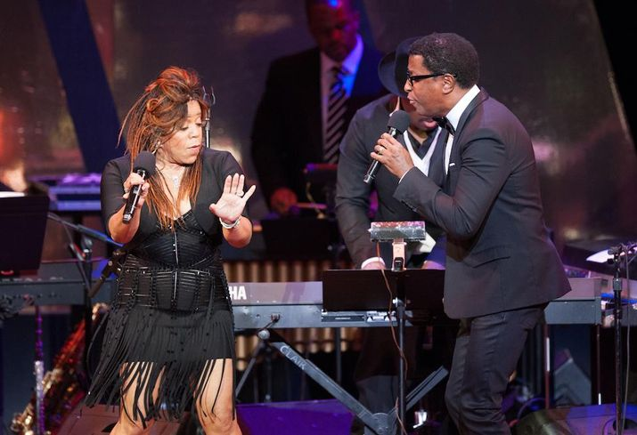 Valerie Simpson and Kenny