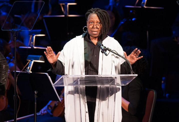 Whoopi Goldberg at the Kennedy Center Spring Gala
