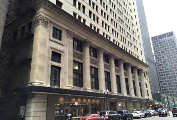 Daniel Burnham's Commercial National Bank Building will see new life as The National, an ambitious adaptive re-use project from Blue Star Properties and entertainment group 16