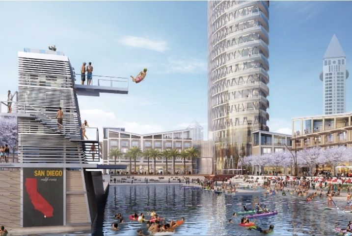 JV of McWhinney and DJM Capital Partners has proposed SeaPort, a 1.2M SF development with a recreational marina.