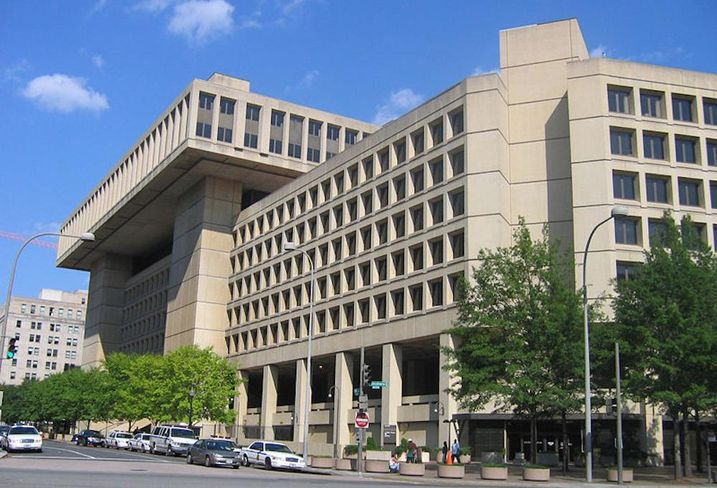 FBI HQ J Edgar Hoover building