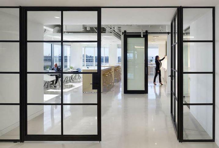 CBRE's new Toronto West office.