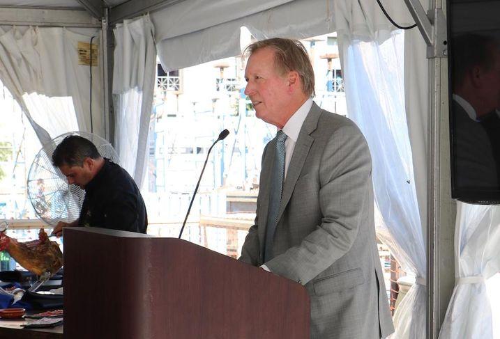 Bob Braunohler regional vice president of Property Group Partners