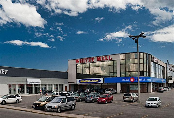 Whitby Mall in Whitby, ON
