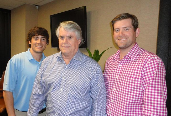 Vice chairman Brian O'Boyle Sr. works with his sons Brian Jr, ARA's executive managing director, and Kevin, ARA's investment analyst.