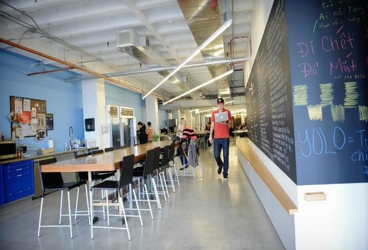 Inside 1871, Chicago's tech incubator located at Merchandise Mart
