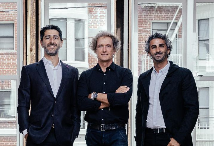 (L-R) Steve Mohebi, Yves Behar and Amir Mortazavi.