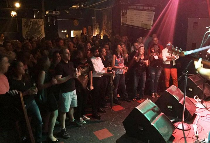 Which Law Firm Band Was Most Popular At The Black Cat?