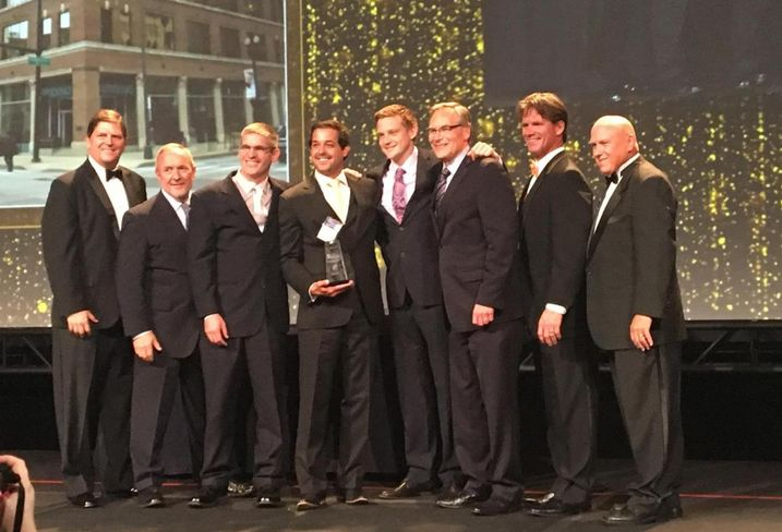 The Sterling Bay team at 564 W Randolph, winners of a BOMA International TOBY Award for a building under 110k SF