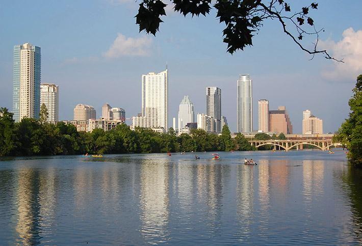 Lady Bird Lake, Austin