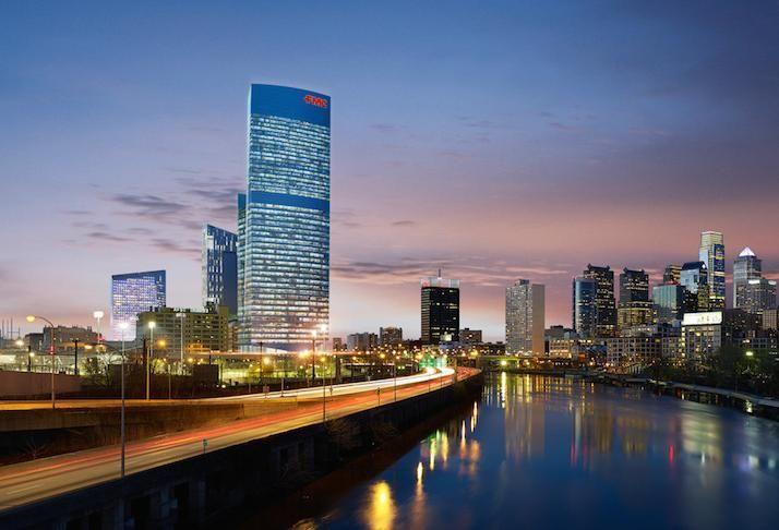 FMC Tower in Philadelphia, developed by Brandywine Realty Trust