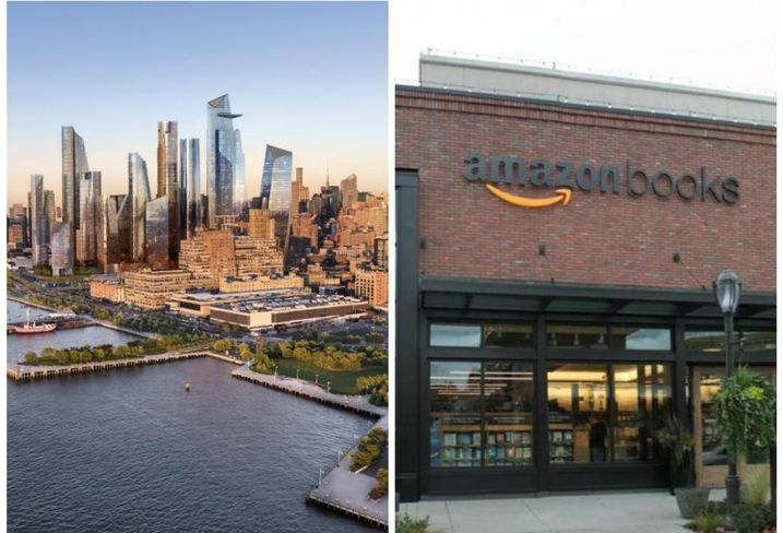 Hudson Yards To Host Amazon's First East Coast Brick-And-Mortar Location