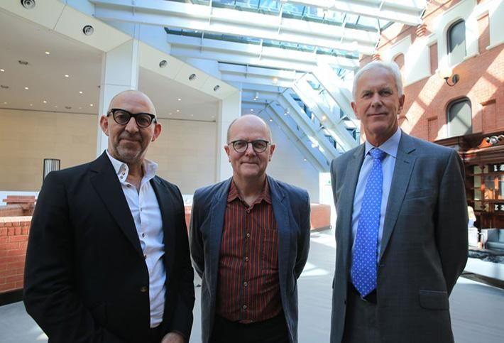 Woods Bagot: Nik Karalis, Ross Donaldson and  Sir Philip Dilley