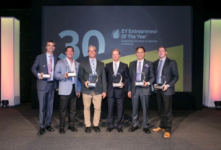 Local Business Leaders Receive Entrepreneur Of The Year Awards