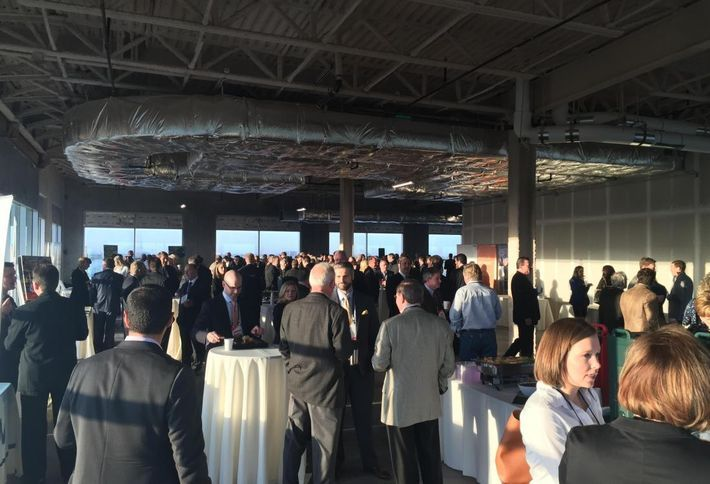 Bisnow Raw Space Event