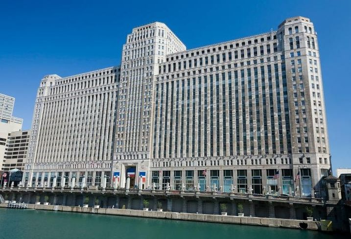 The 4M SF Merchandise Mart is now 75% occupied by tech tenants.