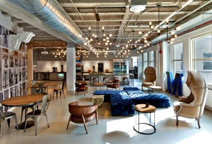 A look at Motorola Mobility's offices in Chicago's Merchandise Mart.