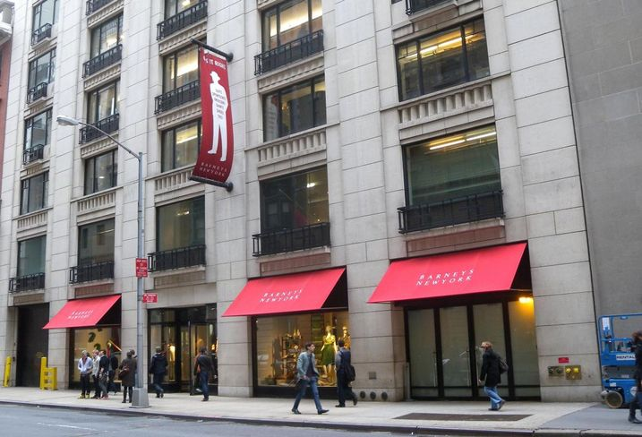 The Rent Could Triple At Barney's Flagship Stores In NY, LA