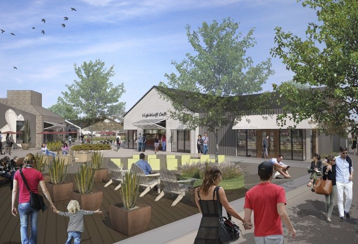 Kilroy Realty's One Paseo in Carmel Valley creates a 98k SF  village-style shopping and dining retail component with a sense of place.