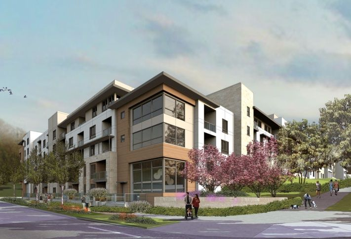 Scheduled for completion in 2019, the 608-unit residential component at One Paseo is a pedestrian-friendly project will have a full-range of resort-style amenities and a short walk for the development's retail village.