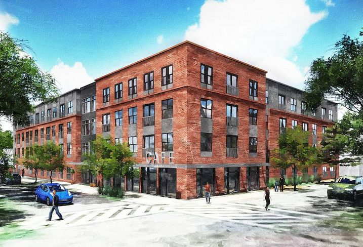 62 Market-Rate Apartments Proposed For Bolton Hill