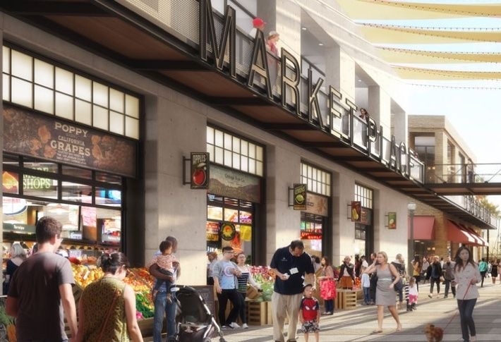 Protea Waterfront Development's plan provides 388k SF of shops and restaurants.