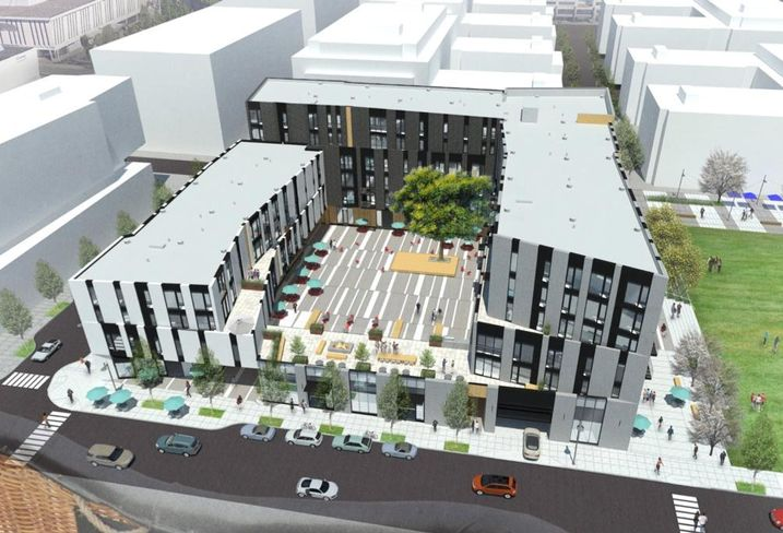 Con-way District's Development Plans In Air
