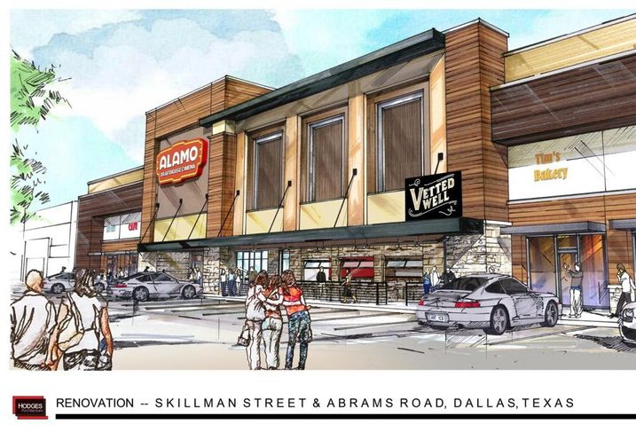 Alamo Drafthouse Cinema DFW announced today that Lake Highlands will be the location for the next Alamo Drafthouse in North Texas.  Alamo Drafthouse Cinema will open at the northeast corner of Skillman Street and Abrams Road across the street from Top Golf in the old Tom Thumb space.  The theater will open spring 2017.