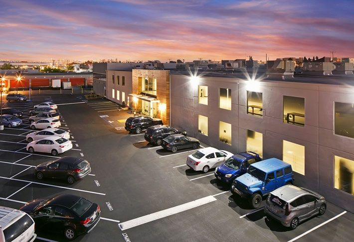 The 83.5k SF industrial building at 2272 Kurtz Street, sold for $16.8M.