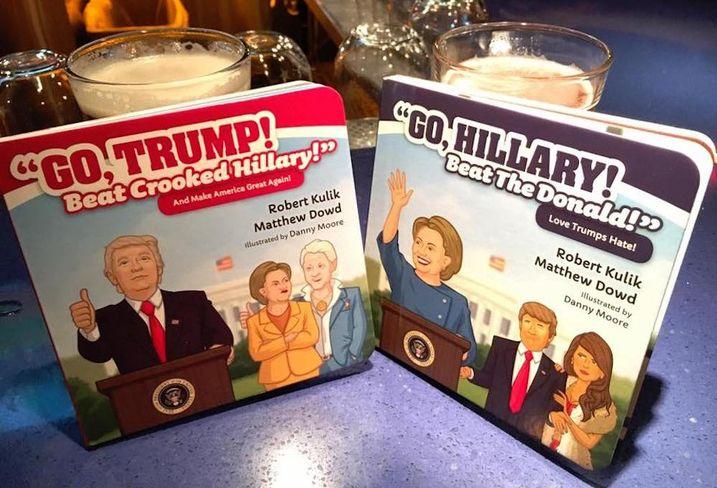 Big Little Rivals Trump Hillary books