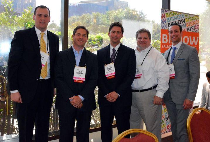 BKD's Scott Humphrey, SunTrust's Colin Whittier, Allied Orion Group's Ricardo Rivas, Hunt Mortgage Group's Vic Clark and Freddie Mac's Matt Brodsky
