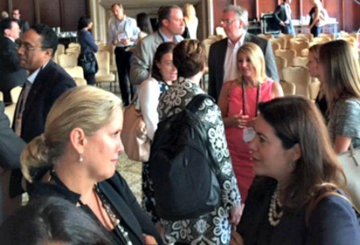 NGKF senior managing director Karin Kraai and JPMorgan Global Real Assets managing director Kim Adams