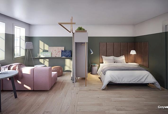 Bedroom in Leman Locke in London's Whitechapel