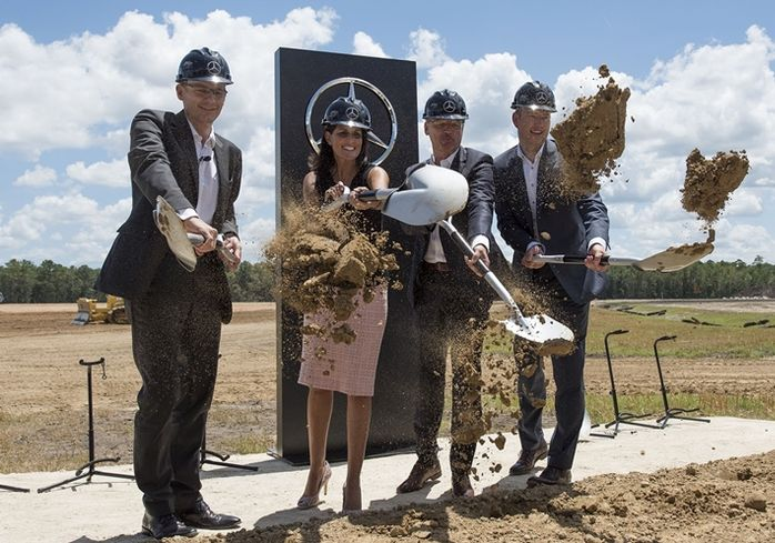 Mercedes-Benz Kicks Off Expanded Plant In SC