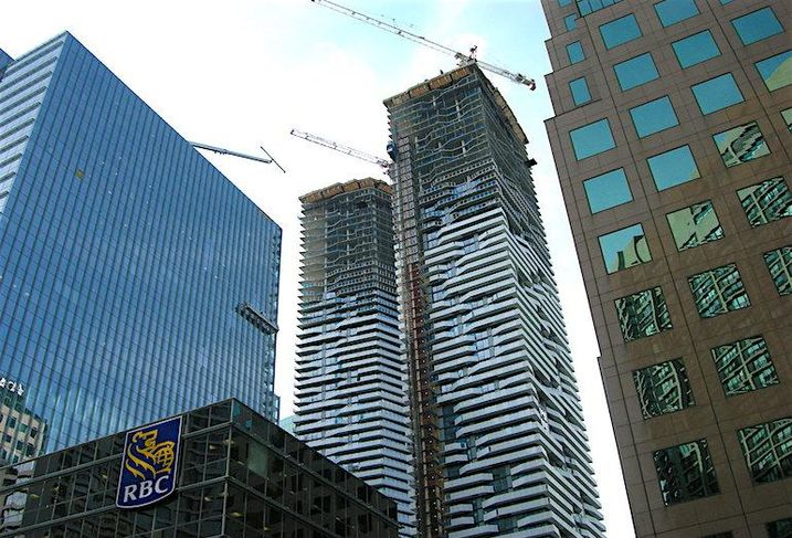 Harbour Plaza in Toronto's South Core