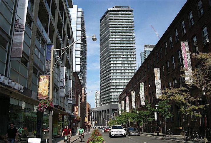 Tableau Condos on Richmond Street West in Toronto
