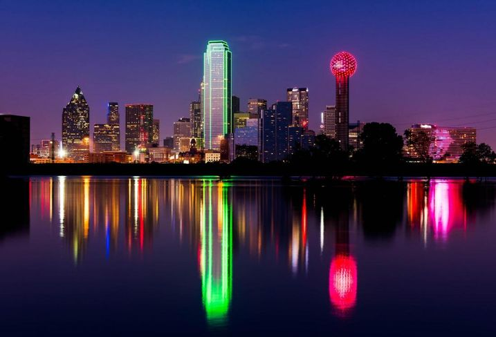 Dallas Skyline at Night; Daxis/Flickr