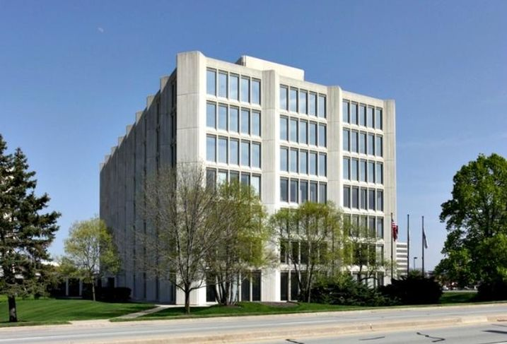 2021 Spring Road in Oak Brook, IL, part of the Commerce Plaza office complex.